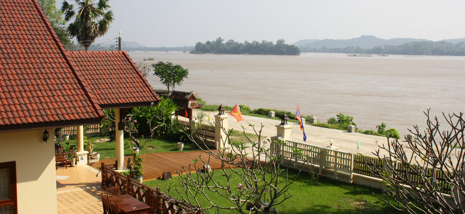 Hôtel traditionnel au Laos